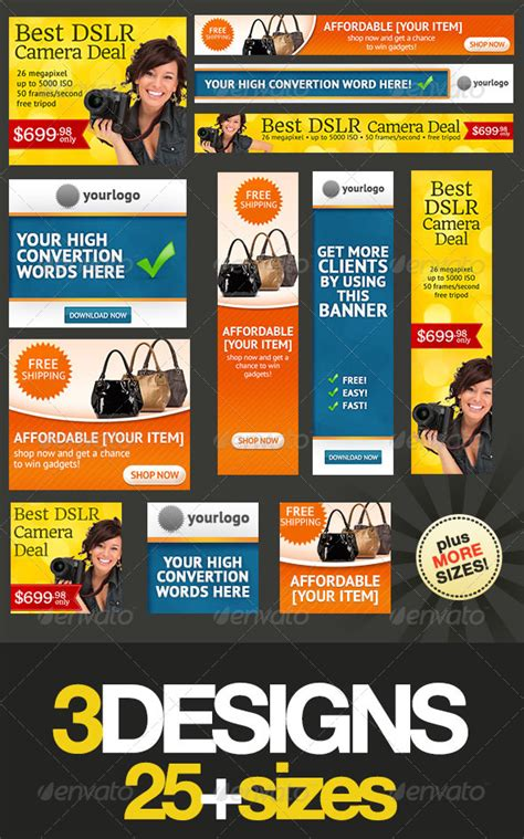 banner design jquery banner design templates pack 2 0 jquery re