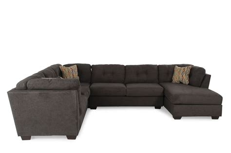 delta furniture sectional ashley delta city steel three piece sectional mathis