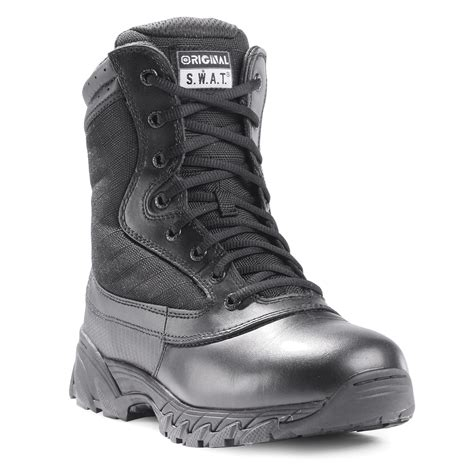swat boots for original s w a t 9 quot tactical side zip boot