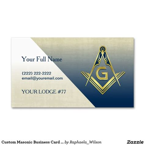 custom business card template 79 best images about masonic business cards invitations