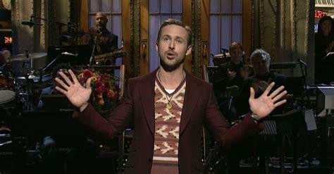 emma stone ryan gosling snl ryan gosling hosts saturday night live