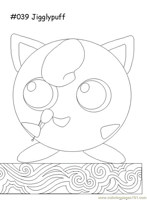 Jigglypuff Coloring Pages Pokemon Jigglypuff Coloring Pages Coloring Pages by Jigglypuff Coloring Pages