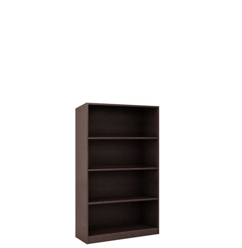 4 Inch Shelf by Collection 4 Shelf Bookcase 48 Inch Contempo Space