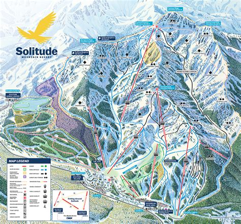 brighton trail map solitude mountain resort trail map onthesnow