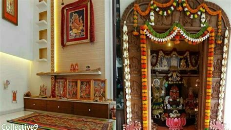 Home Mandir Decoration by Latest Pooja Room Ideas Pooja Room Interior Designs