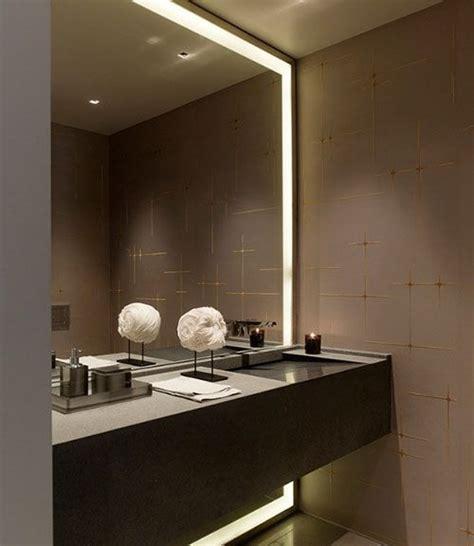 wc spiegel met led verlichting led spiegel badkamer inspiratie led verlichting