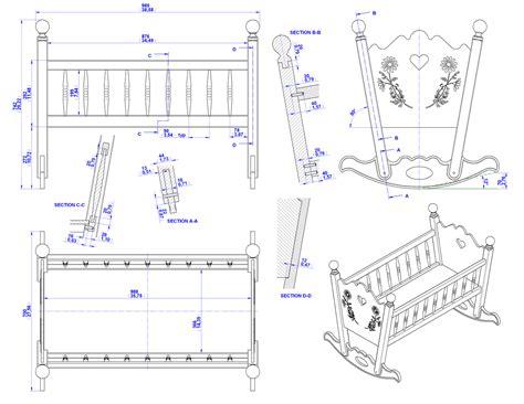 build diy rocking cradle woodworking plans plans wooden