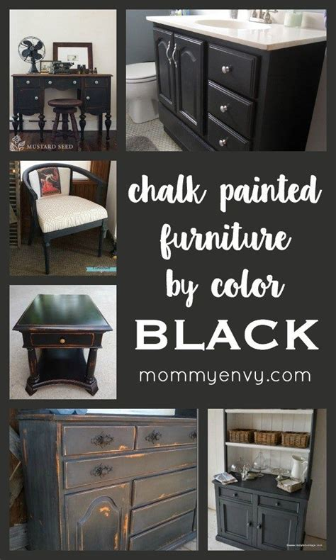 chalk paint black best 25 black chalk paint ideas on