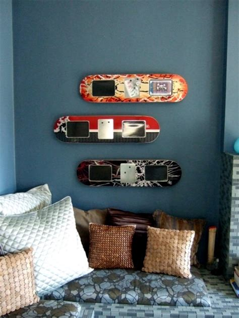 Unique Coffee Table Ideas by Ideas For Upcycled Furniture Design Skateboard Parts
