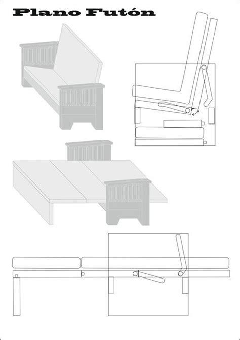 Un Futon by Como Hacer Un Fut 243 N Muebles E Ideas Diy