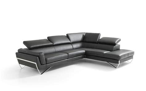 divano angolare moderno divano angolare in pelle moderno con poggiatesta