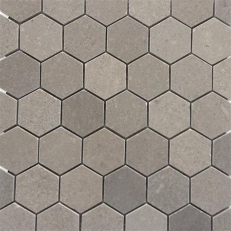 shop for lady gray 2quot hexagon honed marble tile at tilebarcom