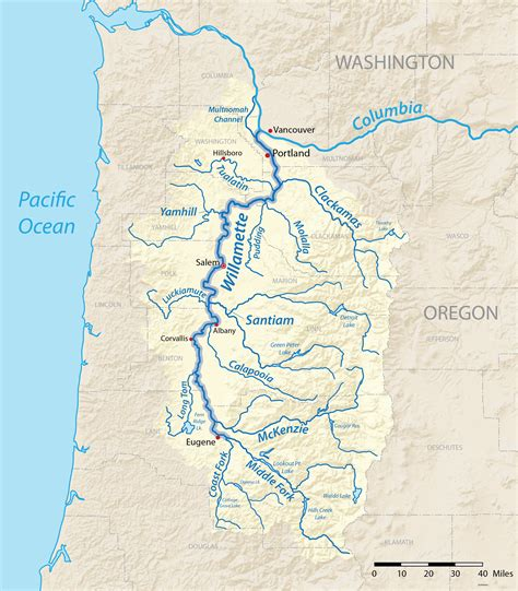 map of oregon lakes and rivers map oregon rivers swimnova