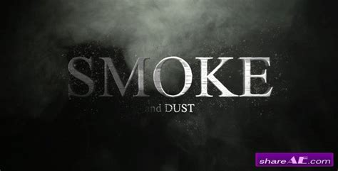 smoke template after effects download smoke and dust after effects project videohive 187 free