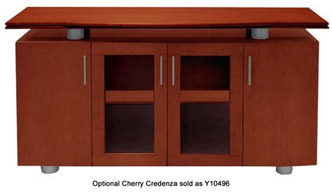 Glass Top Reception Desk Glass Top Amp Cherry Reception Desk In Stock Free Shipping