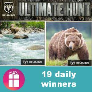 Dodge Ram Sweepstakes - sweeps dodge ram ultimate hunt