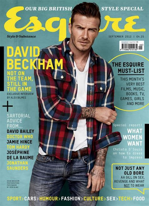Beckham Is Magazines Of The Year by David Beckham Talks Football Family And Posing In His