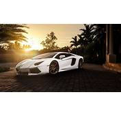 4K Lamborghini Aventador Wallpaper