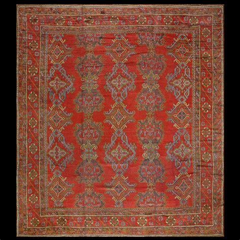 Decorative Rugs by Antique Oushak Rug 678 Turkish Decorative 12 1 X 13