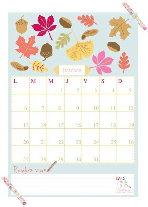 printable calendar elli happy october free printable calendars 2014