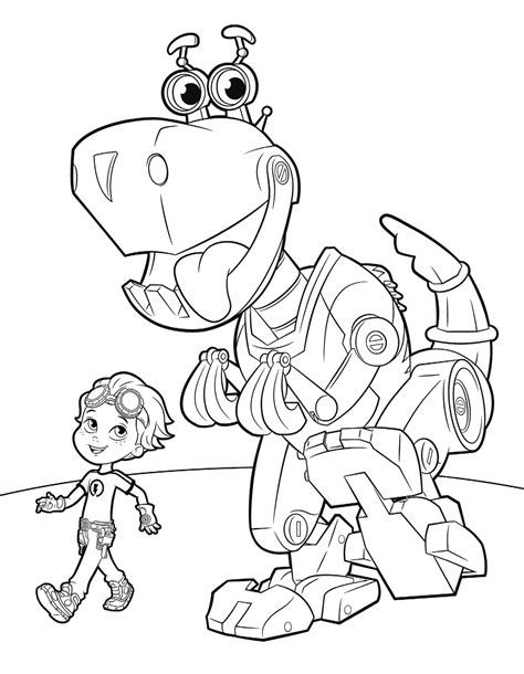 Rusty Rivets Coloring Pages   GetColoringPages.com