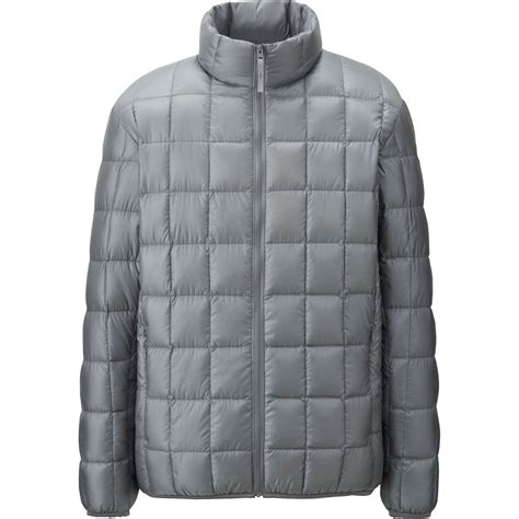 Uniqlo Quilted Jacket by Uniqlo Ultra Light Square Quilted Jacket In Gray For