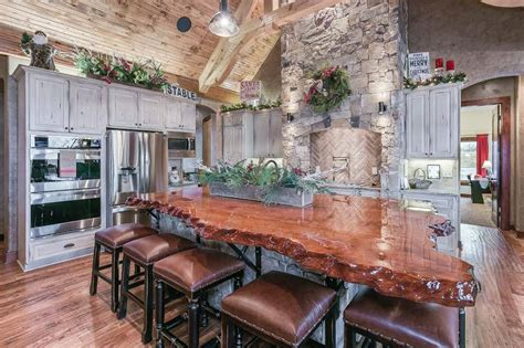 rustic wood bar tops rustic countertops bars live edge countertop redwood