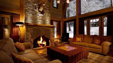 beautiful fireplaces beautiful snow with fireplace sound
