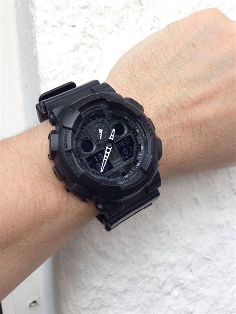 G Shock Ga 100 Black Opp3 casio g shock ga 100 stealth casio g shock