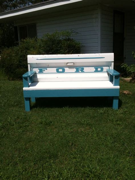 tailgate bench diy 17 best images about tailgate benches auto repurposed on