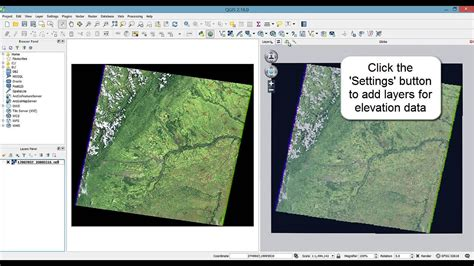qgis geoserver tutorial qgis tutorial visualize your dem and imagery layers in 3d