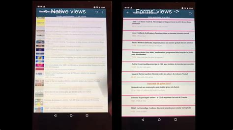 Xamarin Forms Layout Performance | xamarin android native vs forms layout performance