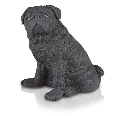 black pug figurine pug urns breeds picture