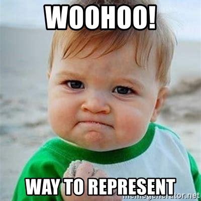 Woohoo Meme - woohoo way to represent victory baby meme generator