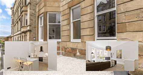 glasgow flat  incredible  full refurbishment