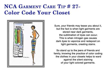 How To Color Code Your Closet by Maple Lawn Cleaners Quality Professional Cleaning
