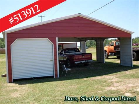 Metal Car Sheds Sale by Storage Shed With Carport Shed Carpot Direct