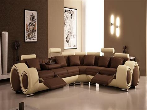 Brown Livingroom by Preview