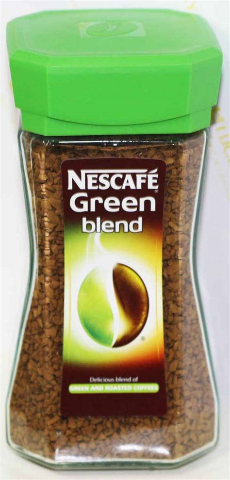 Nescafe Green Coffee nestle nescafe green blend 100gm tea coffee gomart pk