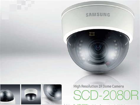 Cctv Samsung Scd 2080r mulia putratech jual cctv samsung scd 2080rp dijakarta