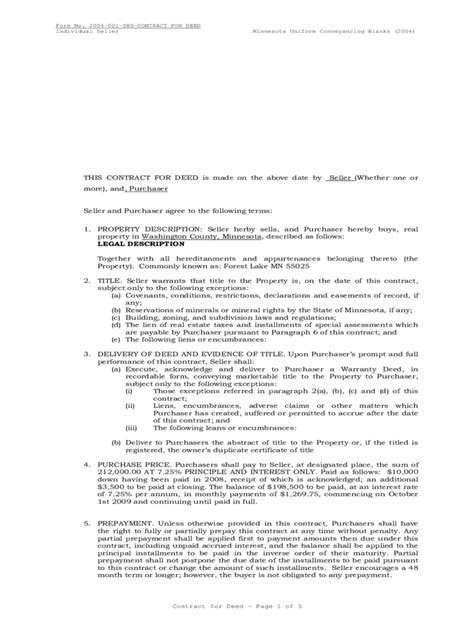 contract for deed template contract for deed form 5 free templates in pdf word