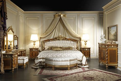 classic bedroom in walnut louis xvi style