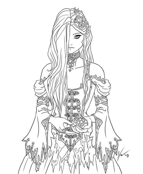 deviantart coloring pages 1000 images about fantasy colouring on pinterest