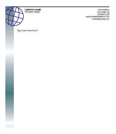 Personal Letterhead 6 Free Sle Exle Format Free Premium Templates Personal Stationery Letterhead Templates