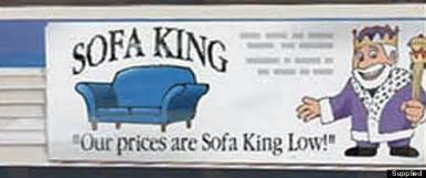 Sofa King Commercial Sofa King Low Advert Banned For Alluding To One Particularly Offensive Swear Word Picture
