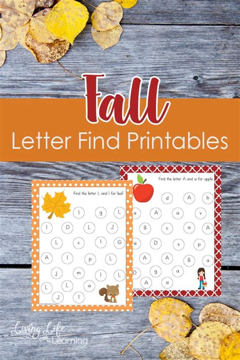Letter Fall