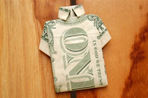 Origami Dollar Bill Shirt - 17 best images about origami on dollar