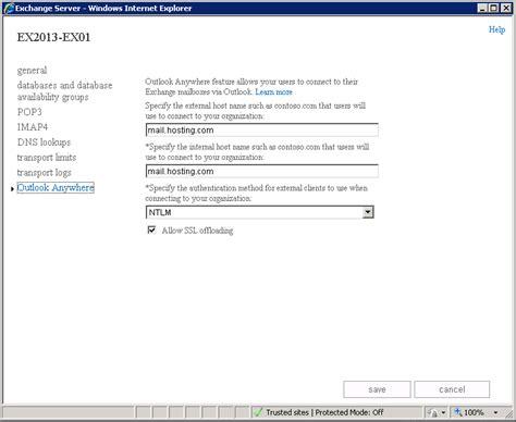 configure xp external access exchange server 2013 administration part 10 just a