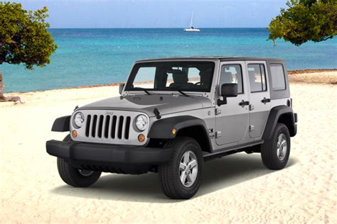 Rent A Jeep Wrangler In Aruba Jeeps 4 Doors Jays Car Rental Aruba