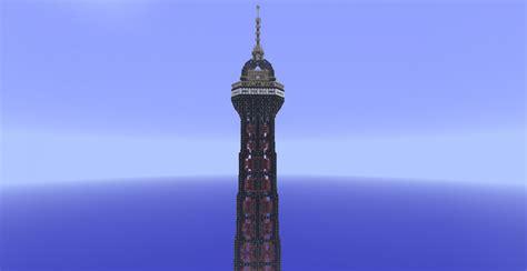 Pajangan Air Eiffel Tower Piramid 10 50 Tour Eiffel Minecraft Project